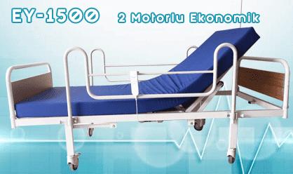 2 Motorlu Ekonomik Hasta Yatağı