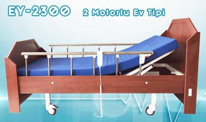 Ev Tipi 2 Motorlu Hasta Yatağı