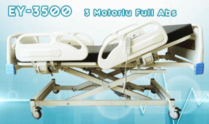 3 Motorlu Full Abs Hasta Yatağı