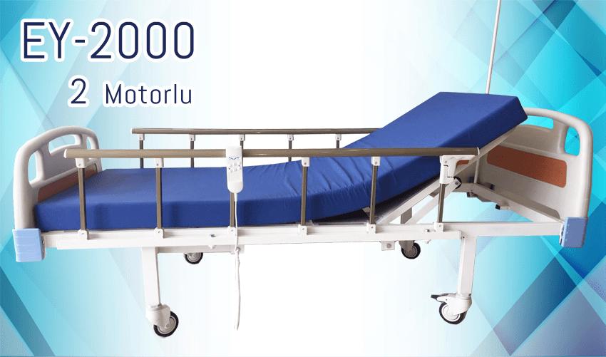 2 Motorlu Hasta Yatağı EY-2000
