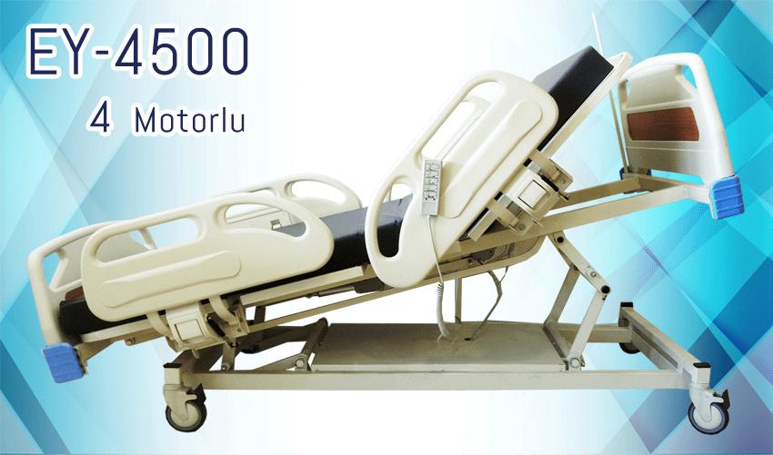 4 Motorlu Hasta Yatağı EY-4500
