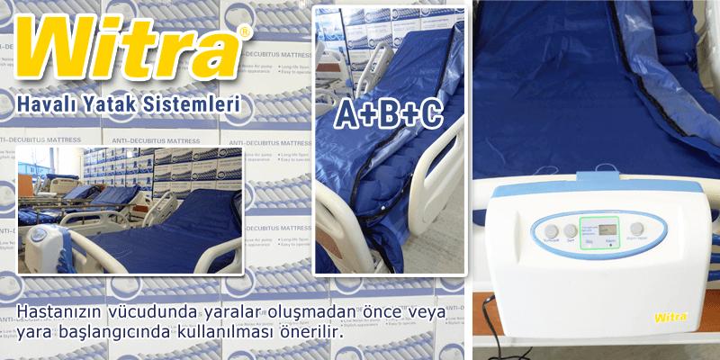 Havalı Yatak Ventilasyonlu A+B+C