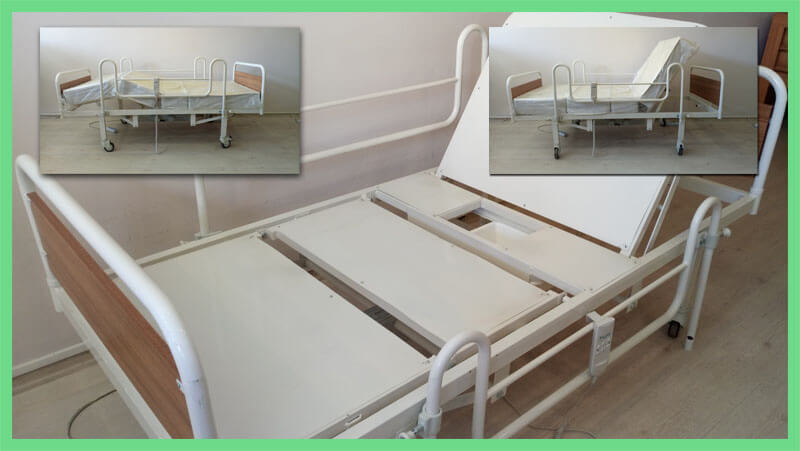 Klozetli Hasta Yatağı