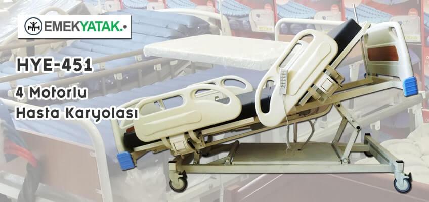 4 Motorlu Hasta Yatağı Üretimi