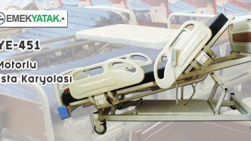Emek Yatak 4 Motorlu Hasta Yatağı Üretimine Başladı