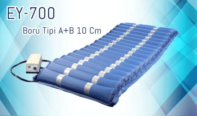 Boru Tipi Havalı Yatak A+B 10 Cm