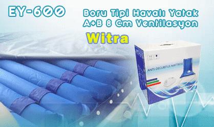 Witra A+B Boru tipi Havalı Yatak 8 cm