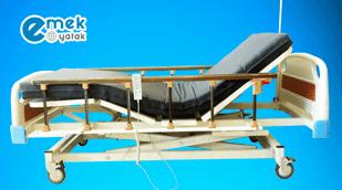 3 Motorlu Asansörlü Hasta Karyolası EY-3000