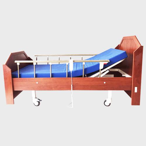 2 Motorlu Ahşap Hasta Yatağı EY-2300
