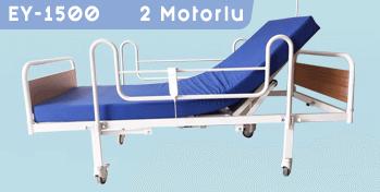 2 Motorlu Hasta Yatağı EY-1500