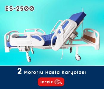 2 Motorlu Hasta Yatağı EY-2500