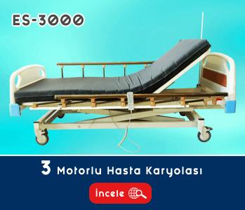 3 Motorlu Hasta Yatağı EY-3000
