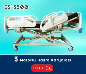 3 Motorlu Hasta Yatağı EY-3500