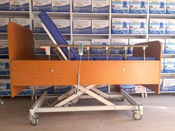 3 Motorlu Ahşap Hasta Karyolası EY-3300