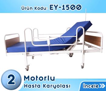 2 Motorlu Elektrikli Hasta Karyolası EY-1500