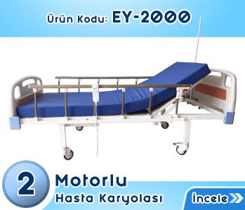 2 Motorlu Elektrikli Hasta Karyolası EY-2000