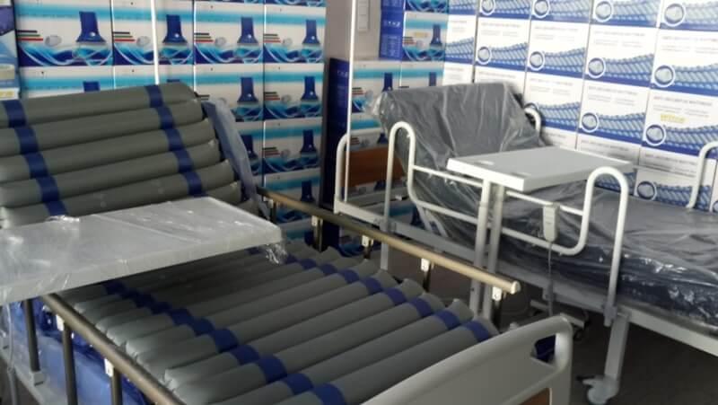 Hasta yatağı fotoğrafı