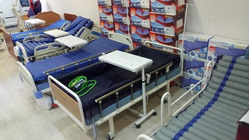 Yatalak Hastalar İçin Havalı Yatak
