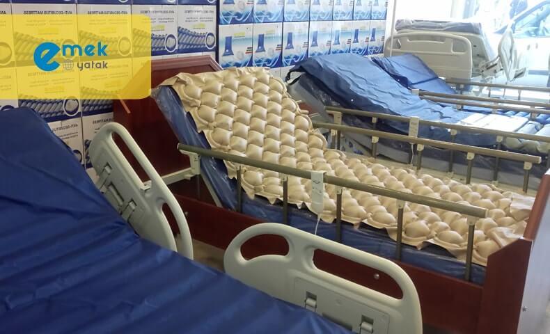 4 Parçalı Hasta Yatağı