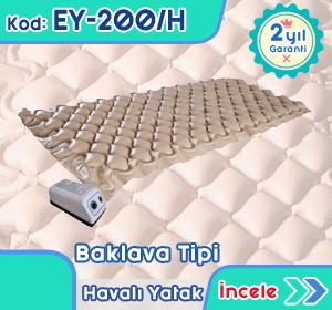 Baklava tipi havalı yatak