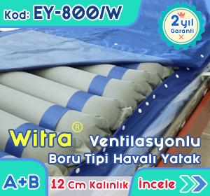 12 Cm Boru Tipi Havalı Yatak EY-800/W