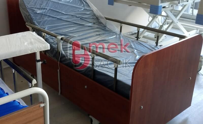 Hasta Yatağı Ahşap Model