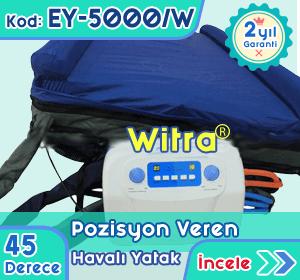 45 Derece Pozisyon Veren Havalı Yatak EY-5000-W