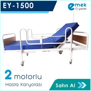 Ey-1500 2 Motorlu Hasta Yatağı
