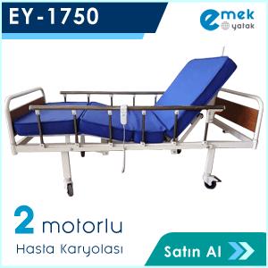 EY-1750 2 Motorlu Hasta Yatağı