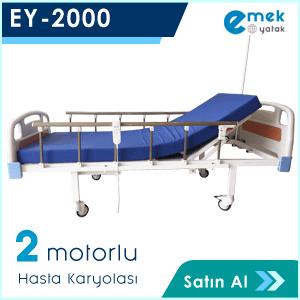 EY-2000 2 Motorlu Hasta Yatağı