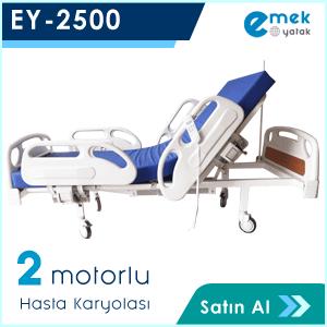 EY-2500 2 Motorlu Full Abs Hasta Yatağı