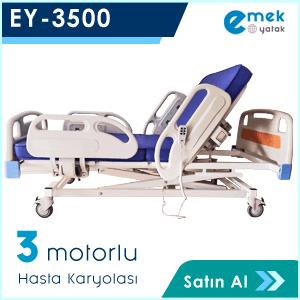 EY-3500 3 Motorlu Hasta Yatağı