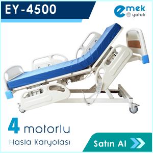 EY-4500 3 Motorlu Hasta Yatağı