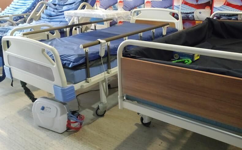 Hazırlanmış Hasta Yatakları