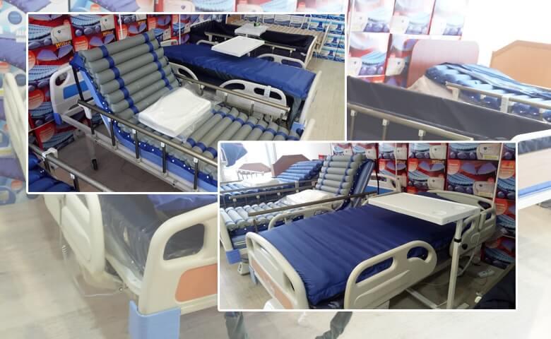 Katlanabilir Özellikte Hasta Yatakları