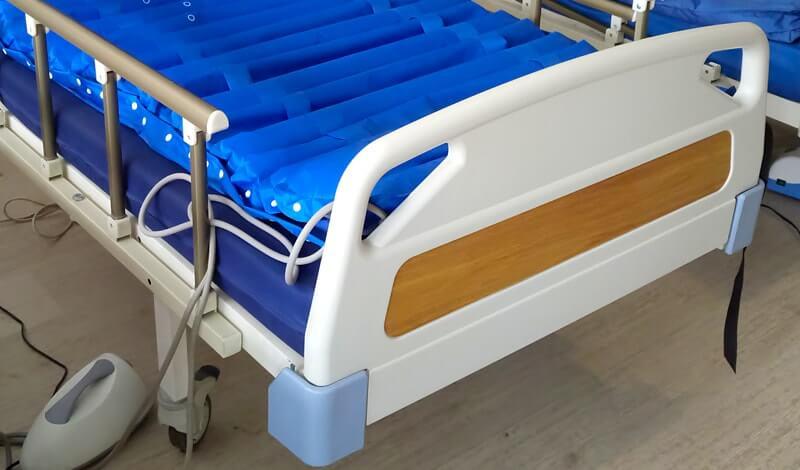 Havalı hasta yatağı modeli