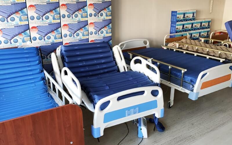 Lazımlıklı Hasta Yatağı Modelleri