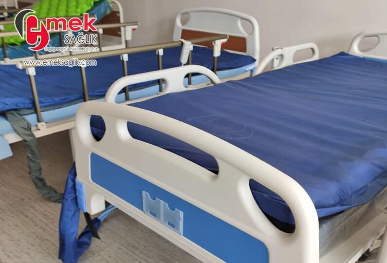 Evde de kullanılabilen hasta yatakları