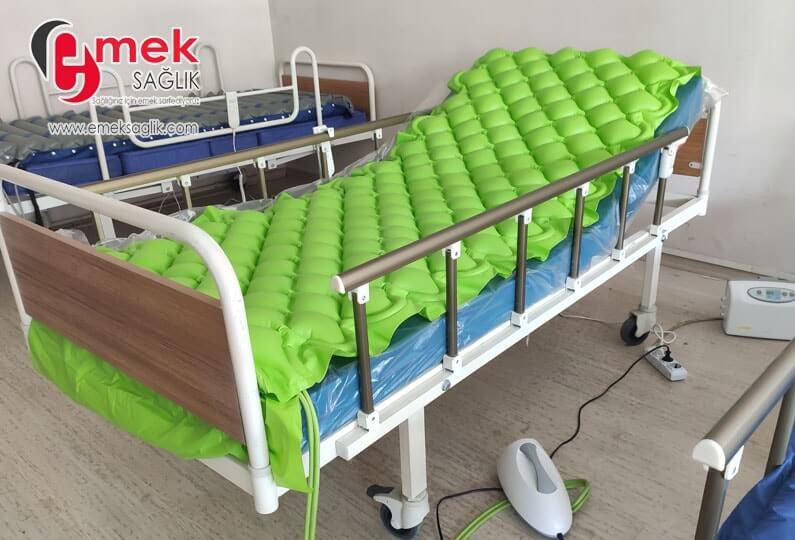 Temizlenmiş Hasta Yatağı