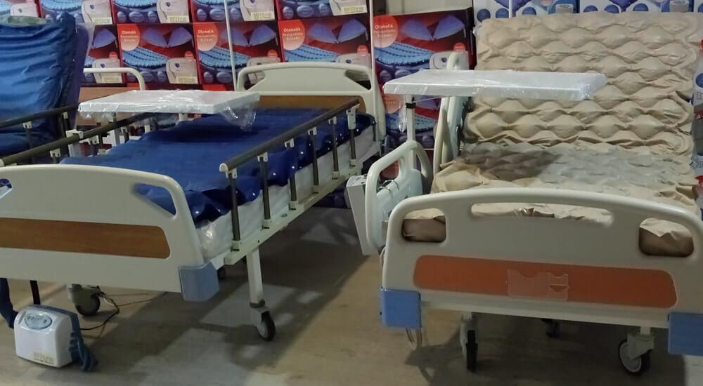 Elektrik Motorlu Hasta Yatakları