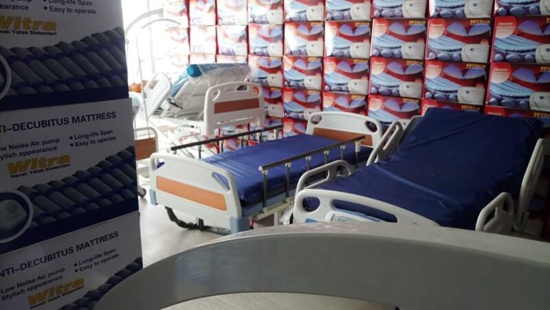 Evde kullanılabilir hastane yatakları