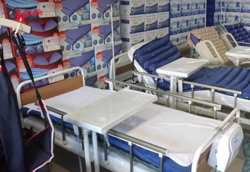 Konfor ve kolay kullanım sunan hasta yatakları