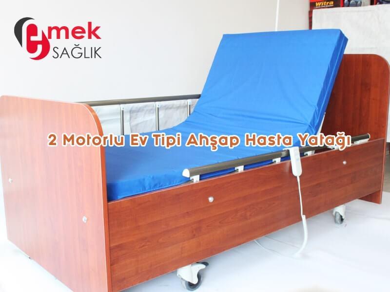 Evde kullanılabilir hasta yatağı modeli
