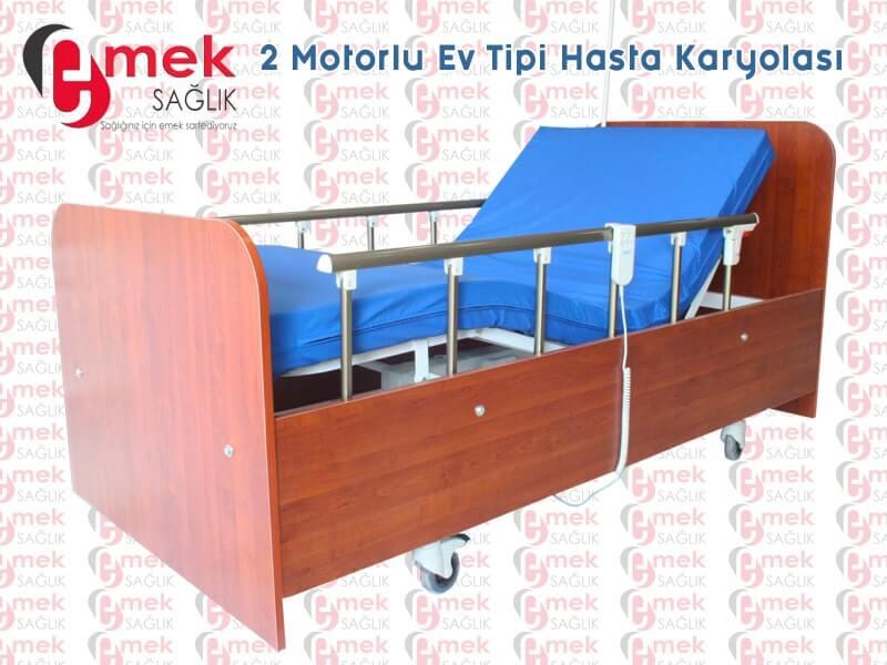 Tedavi için hasta yatağı