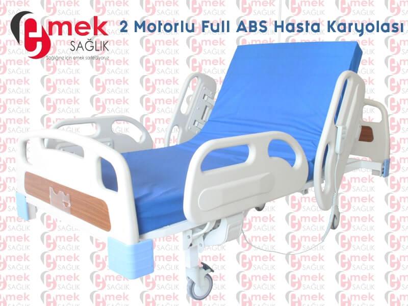 Motorlu Hasta Karyolası