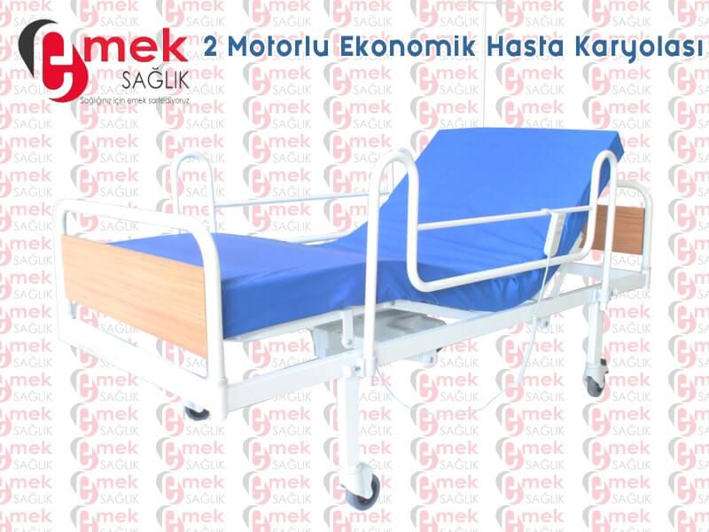 Tuvaletli hasta yatağı modeli