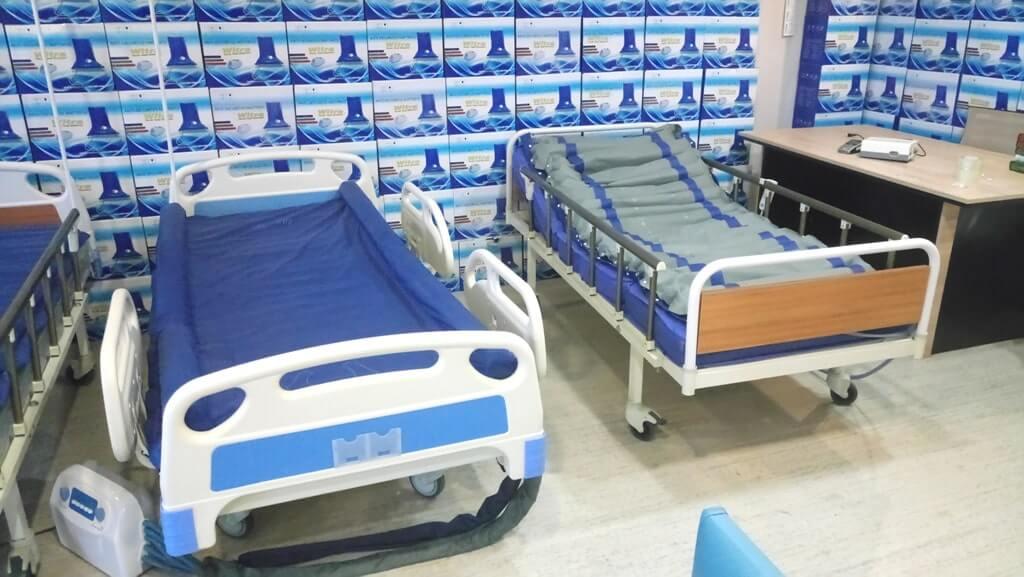Kumandalı ev tipi hasta yatakları
