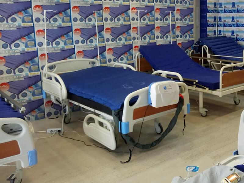 Sıfır ve ikinci el hasta yatakları