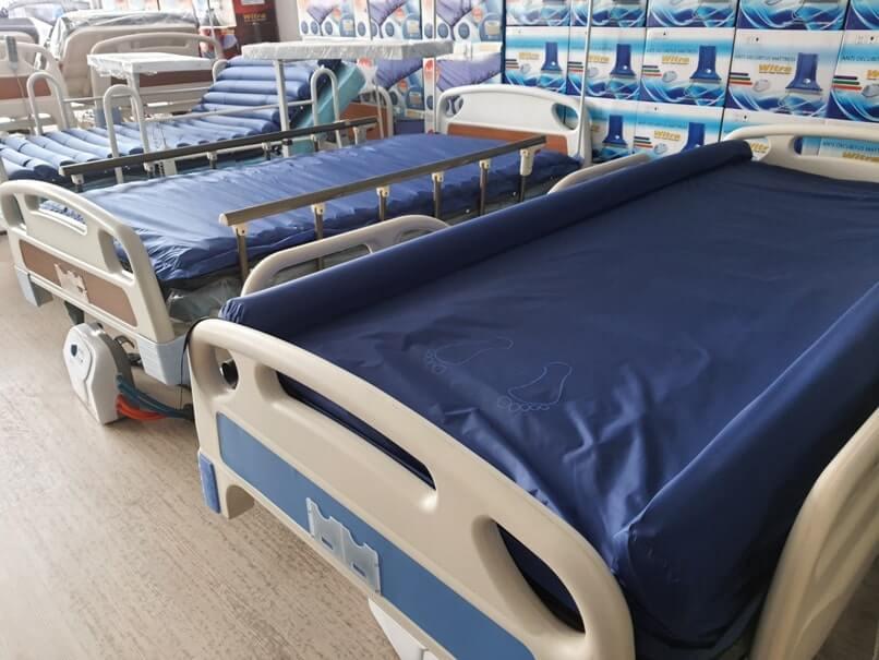 Bakıcıya yararlı hasta yatakları