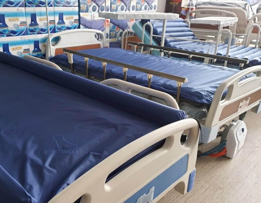 Kumandalı motorlu hasta yatakları